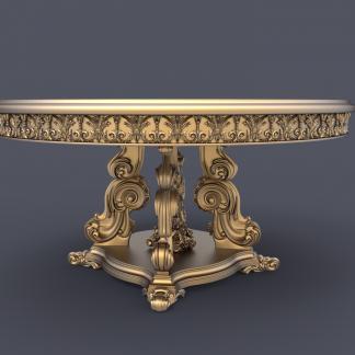 طرح سه بعدی cnc میز-طرح سه بعدی میز نهار خوری-طرح cnc-طرح ارتکم-طرح اماده ارتکم