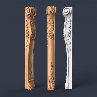 طرح سه بعدی سر ستون-خرید طرح سه بعدی-فروش طرح سه بعدی-پایه جزیره اشبپزخانه
