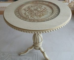 طرح سه بعدی میز نهار خوری-طرح cnc ام دی اف