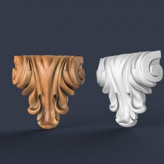 طرح سی ان سی-فروشگاه فایل سه بعدی-طرح سی ان سی سر ستون-پایه جزیره آشپزخانه