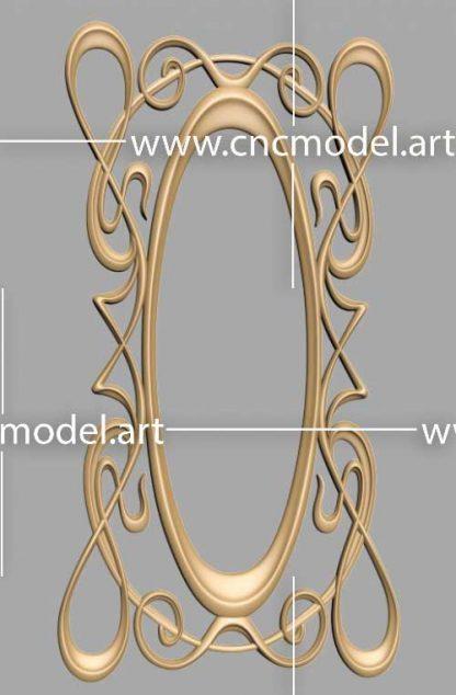 طرح سه بعدی cnc رایگان قاب