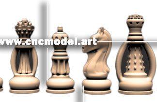 طرح CNC شطرنج