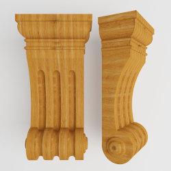 نگاره مدل منبت سر ستون،فایل منبت سر ستون-فایل stl سر ستون ۱